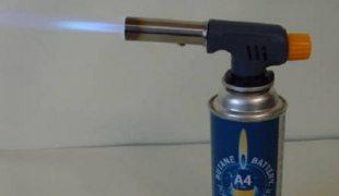 газовая горелка от разморозки труб из металла