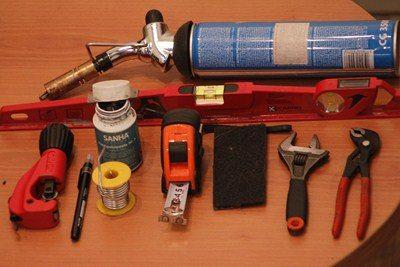 инструменты для пайки медных систем
