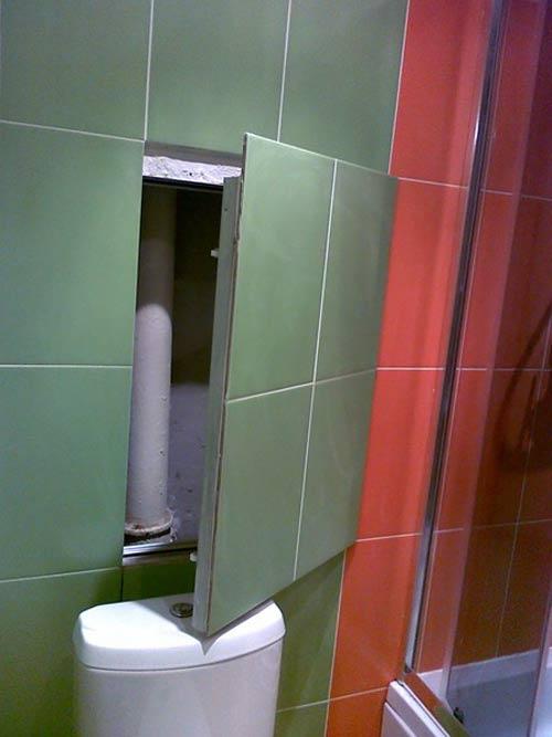 смена труб в ванной