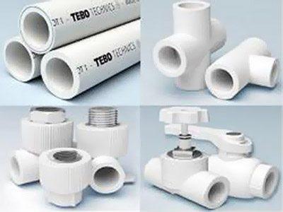 трубы полипропиленовые для отопления и фитинги