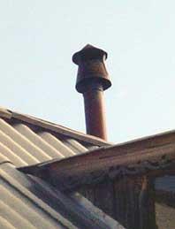 дефлектор на дымовую трубу