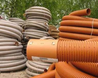 дренажные пластиковые трубы