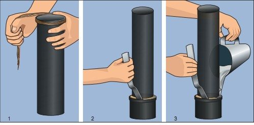 герметизация труб канализационных