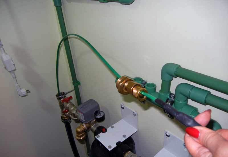 Кабель для обогрева водопроводных труб своими руками