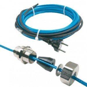 кабель для обогрева трубы внутри