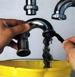 как почистить канализационные трубы