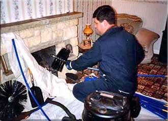 как прочистить трубу дымохода