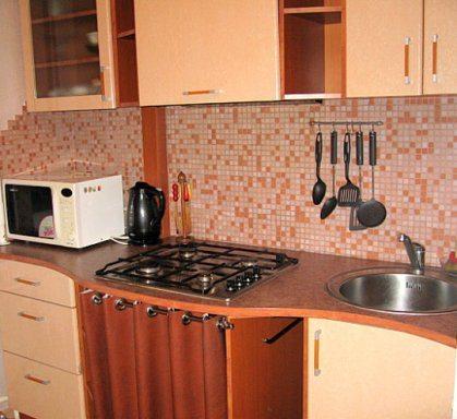Как скрыть газовую трубу на кухне фото - 354