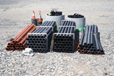 канализационные керамические трубы