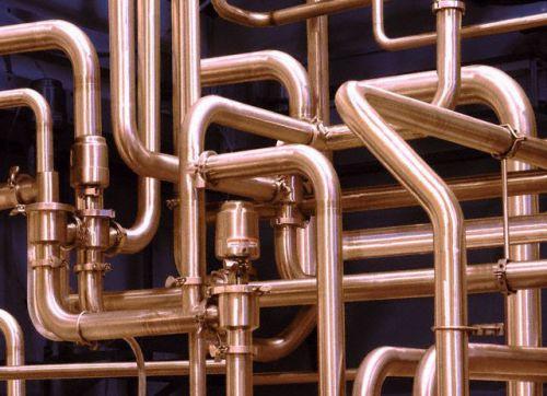 медная труба для водопровода
