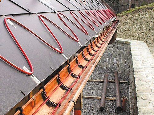 нагревательный кабель для водосточных труб