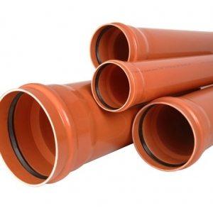 наружная канализационная труба