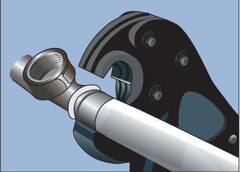 опрессовка металлопластиковых труб