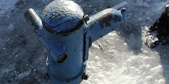 пластиковые трубы замерзли