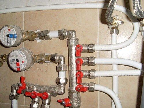 ремонт водопроводной трубы toatm