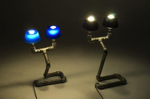 светильники из водопроводных труб