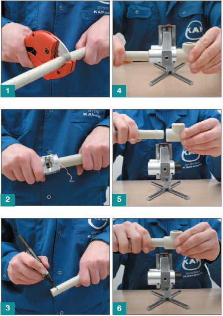 технология пайки полипропиленовых труб