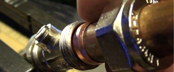 труба водопроводная медная