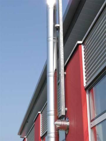труба вытяжная для газовой колонки