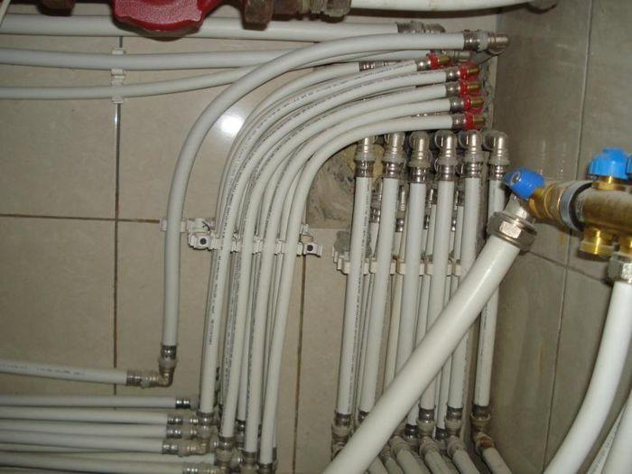 трубы для водопровода дачного