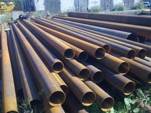 трубы металлические водопроводные
