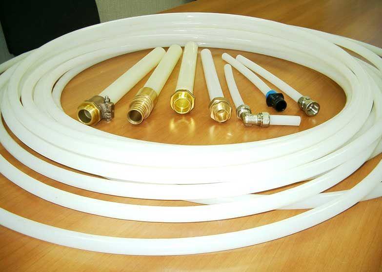 трубы pex из сшитого полиэтилена для отопления