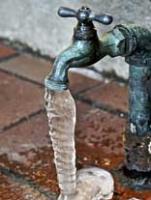 в трубе замерзла вода