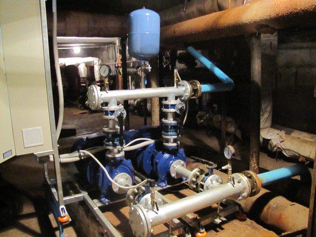 водопроводная стальная труба
