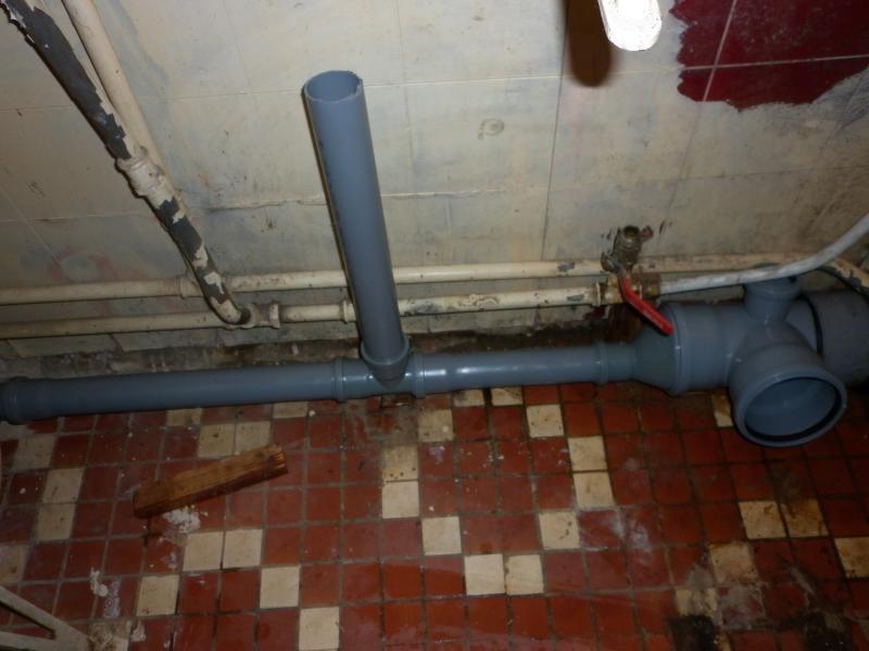 замена канализационных труб в квартире видео