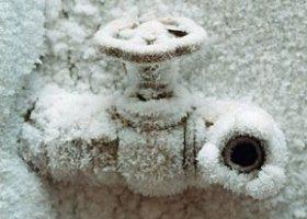 замерзли трубы