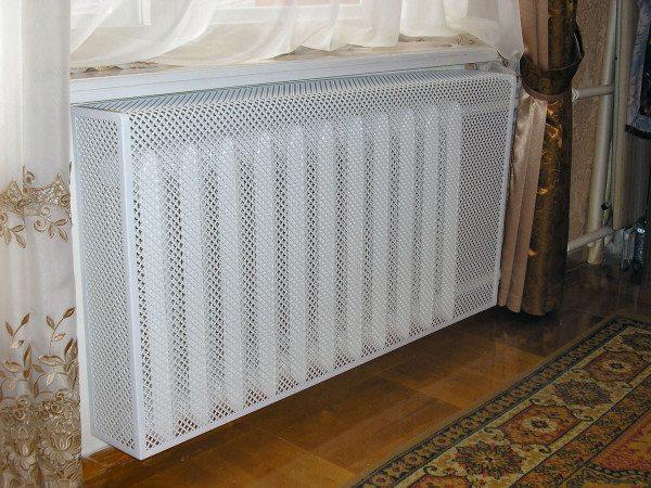 Декоративная алюминиевая сетка для защиты радиатора
