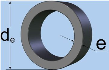 диаметр ПНД труб