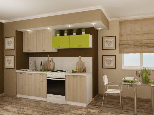 Важно, чтобы кухня смотрелась гармонично и составляющие ее деталей дополняли друг друга