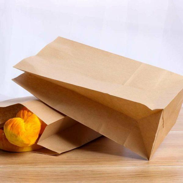 Хлеб в бумажном пакете