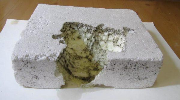 Растворенный пенопласт
