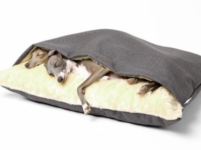 Кровать + одеяло порадует вашего питомца своим теплом