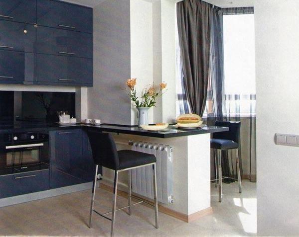 Лоджия добавит вашей кухне несколько столь драгоценных метров
