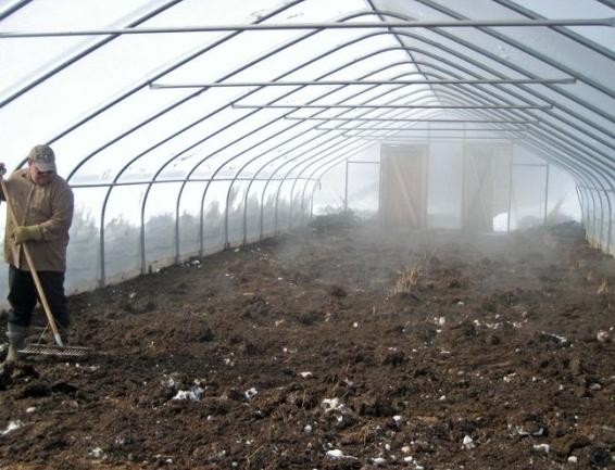 Обеззараживание почвы после полного схода снега
