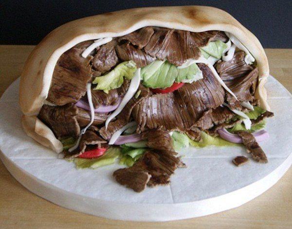Торт кебаб от самоучки
