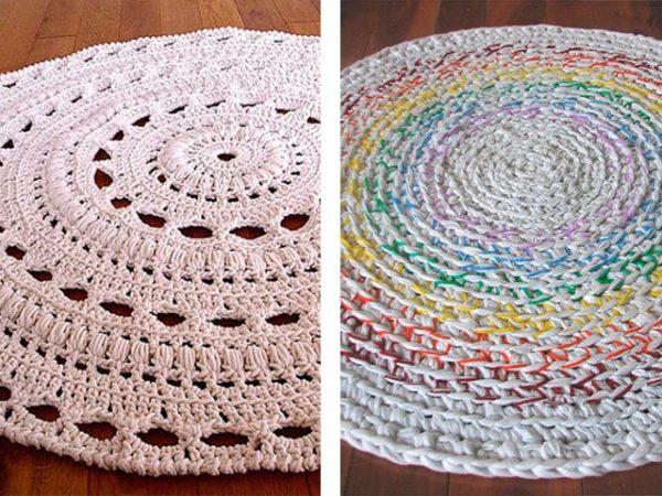 Разные варианты ковриков подойдут для разных стилей интерьера