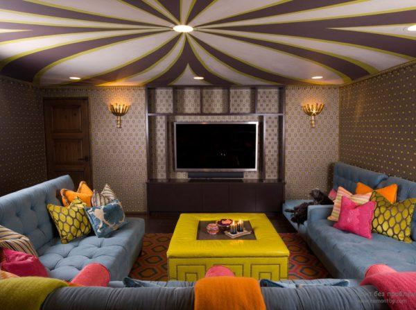 Яркие элементы декора – не отменная часть марокканского стиля