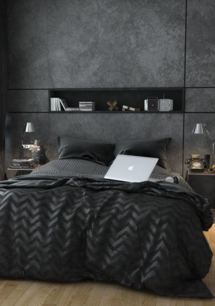Оденьте свою комнату в роскошь стиля нуар