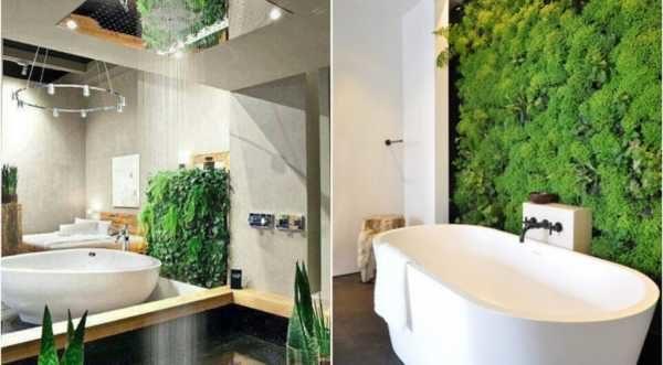 Светлая и просторная ванная комната позволит выращивать зелень прямо у вас дома