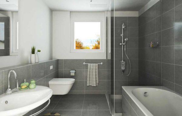 Теплая ванна может заменить плед и поможет расслабиться в осенней обстановке в комнате