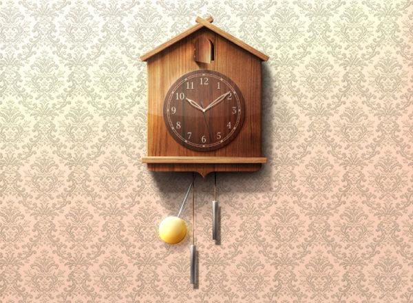 Настенные часы – очень удобны, это то, что нам следует перенять от наших любимых бабушек