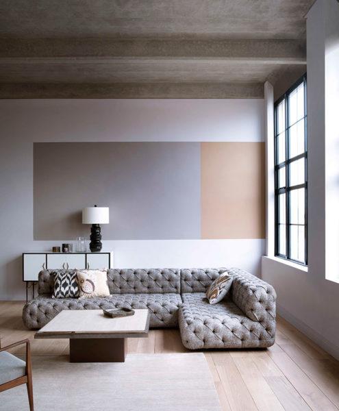 Стиль минимализма всегда подчеркнет пространство комнаты