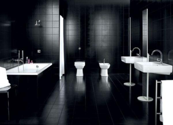 Черно-белое сочетание – классика стиля.