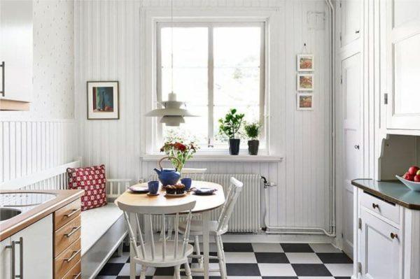 Минимум декора и максимум света – отличительная черта скандинавского кантри.