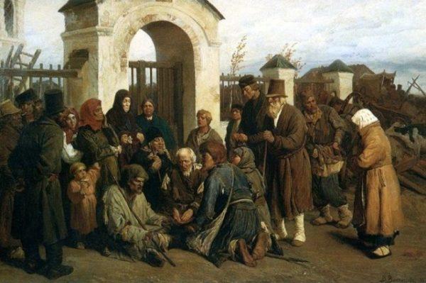 Виктор Васнецов «Нищие певцы».