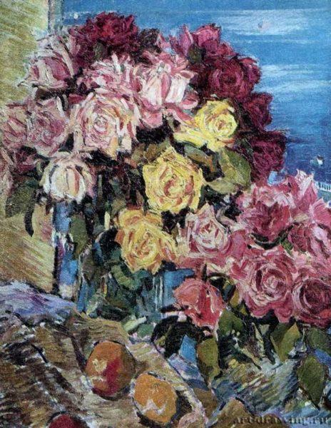 Евгения Антипова «Розы».